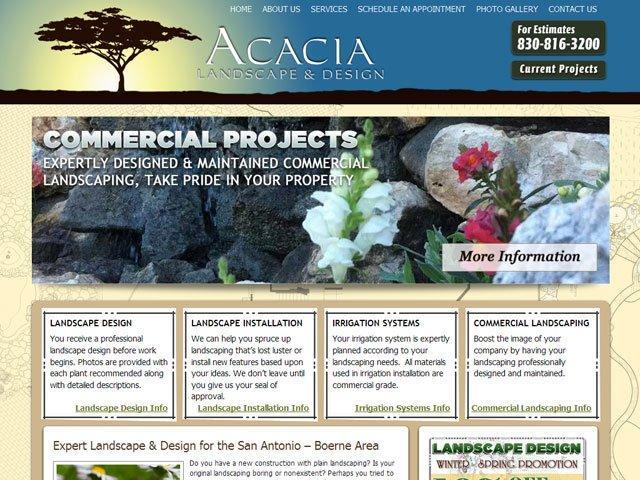 Acacia Landscape and Design Design Portfolio